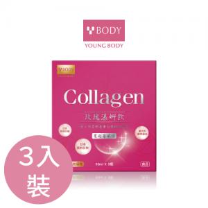 玫瑰漾妍飲(3入裝)-膠原蛋白飲-水潤光滑